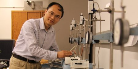 Dr Lijun Deng, a Robert and Maude Gledden Senior Visiting Fellow